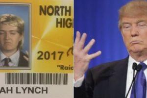 10 Foto kartu pelajar ini nyeleneh abis, ada yang mirip Donald Trump