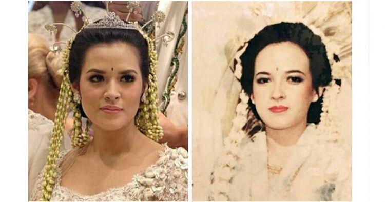 4 Foto jadul pernikahan ibunda Raisa, mirip banget sama anaknya!