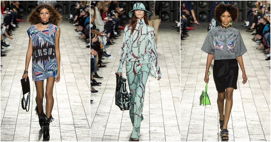 Intip koleksi Versus Versace Ready-To-Wear di London Fashion Week 2017