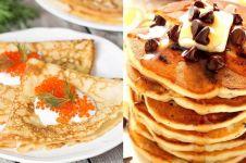 10 Jenis pancake dari berbagai negara di dunia, yummy!