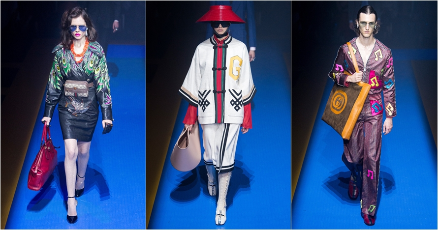 Intip koleksi Gucci Ready-To-Wear di Milan Fashion Week 2017
