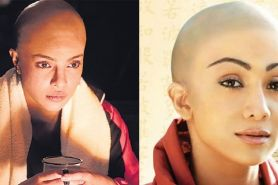 8 Seleb cantik Bollywood ini rela botak demi peran di film