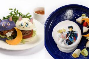Kafe Sailor Moon buka di Jepang, menunya bikin nggak tega makan