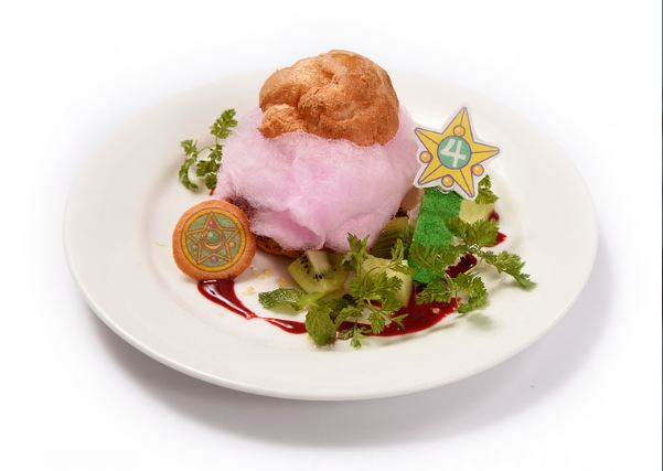 Menu Cafe Sailor Moon Di Jepang © 2017 brilio.net