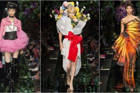 Intip koleksi Moschino Ready-To-Wear di Milan Fashion Week 2017