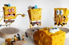 5 Action figure Spongebob ini mirip aslinya, ekspresinya sangat nyata