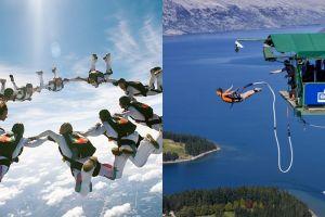 10 Aktivitas ekstrem outdoor yang perlu kamu coba sekali seumur hidup