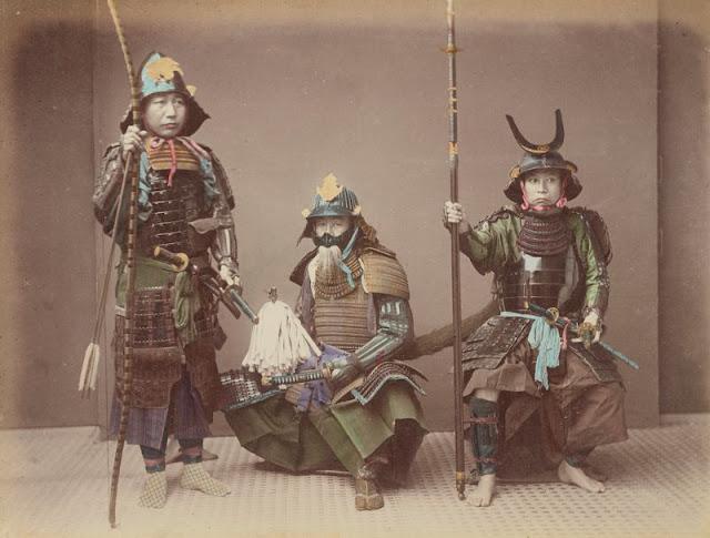 20 Foto kehidupan abad ke-19 di Jepang ini diwarnai ulang, mengagumkan