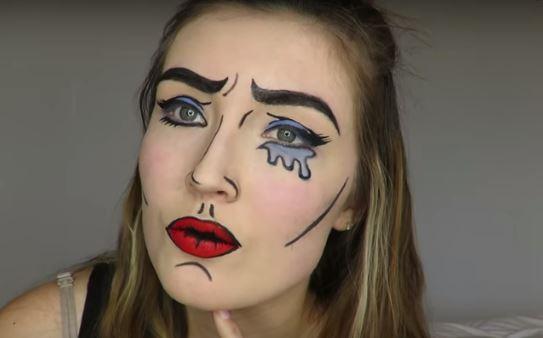 makeup ala filter snapchat  © 2017 berbagai sumber