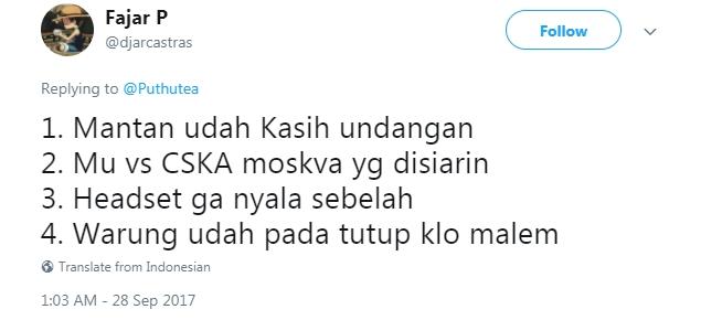 Hal Tak Disukai  © 2017 twitter