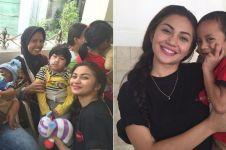 Selain relawan pengajar, 6 aksi kemanusiaan ini dilakukan Ariel Tatum