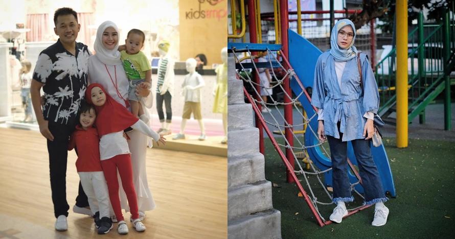 10 Gaya terkini Zaskia Adya Mecca saat hamil anak keempat, bak ABG