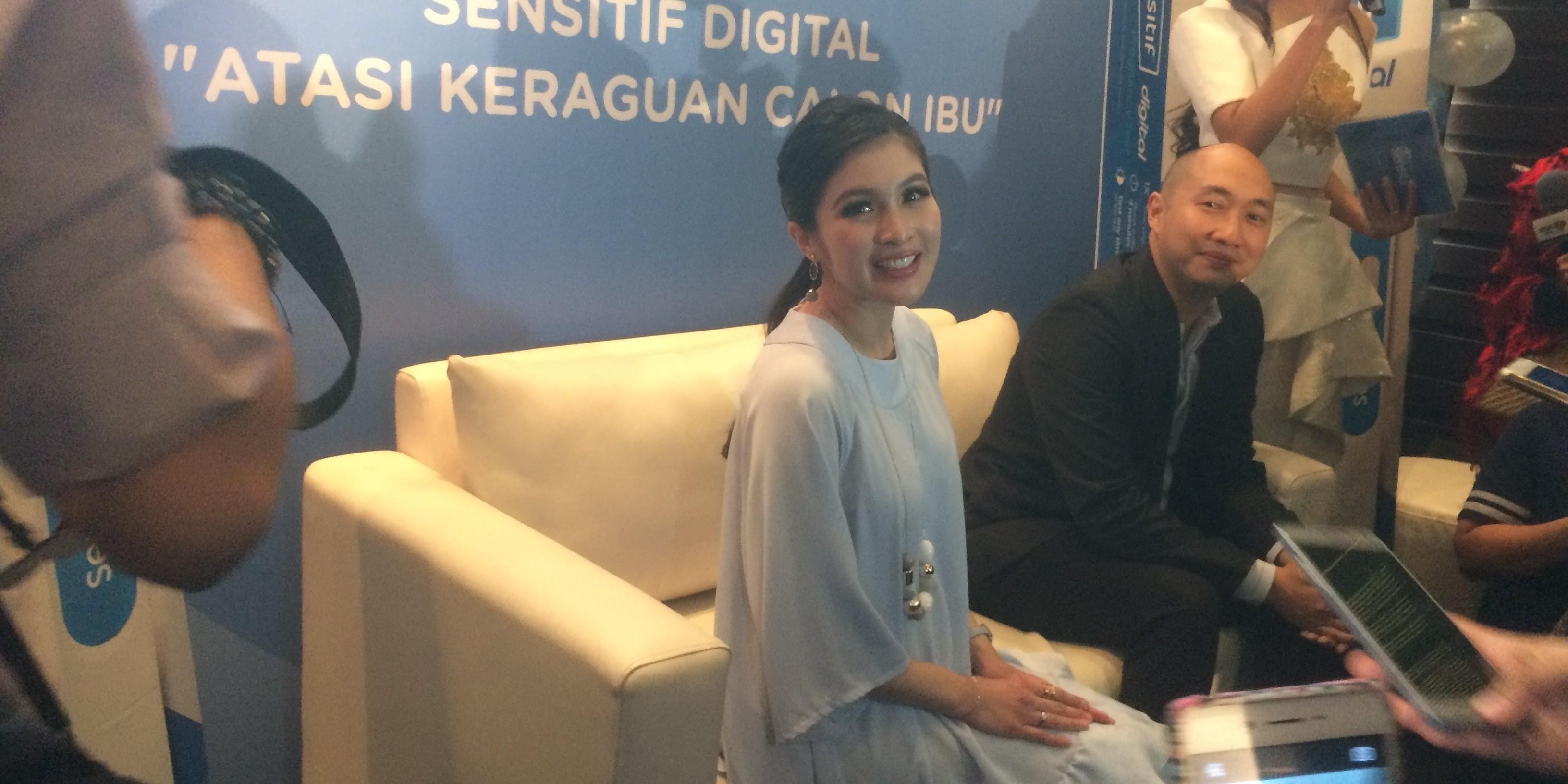 Hamil tua, Sandra Dewi kilas balik persiapannya menyambut kehamilan