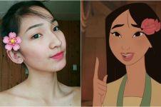 Viral, wanita cantik ini disebut mirip karakter Disney Mulan
