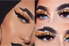 Usai wavy brows, kini muncul tren alis petir yang unik & nyentrik