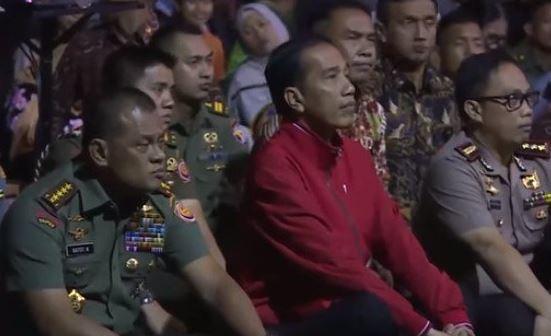Terungkap, ini total Jokowi nonton bareng film G30S/PKI