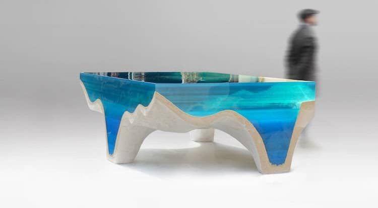 5 Furnitur ini mirip dengan bawah laut, detailnya menakjubkan