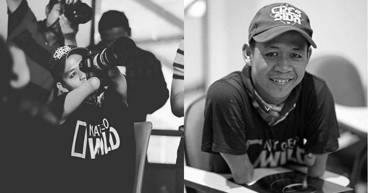 Terlahir tanpa kaki, karya fotografer asal Indonesia ini memukau dunia