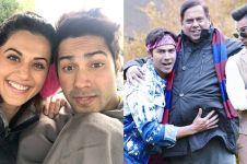 10 Foto di balik layar Judwaa 2, film komedi terbaru dari Varun Dhawan