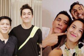10 Bukti akrabnya aktor Malaysia Miller Khan & seleb Indonesia, keren