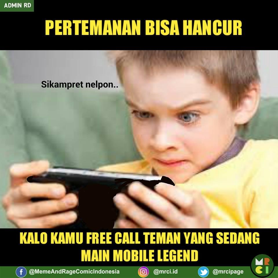 Meme mobile legend 2017 istimewa
