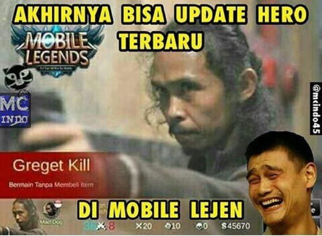 Meme Mobile Legend © 2017 Istimewa