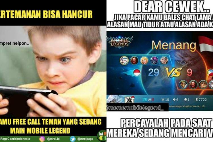 meme mobile legend yang bikin anak game rela mantengin seharia