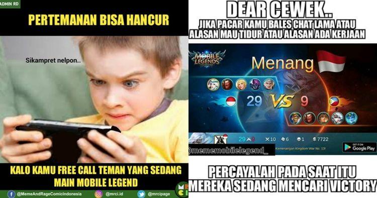12 Meme Mobile Legend Yang Bikin Anak Game Rela Mantengin