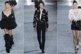 Intip koleksi Saint Laurent Ready-To-Wear di Paris Fashion Week 2017