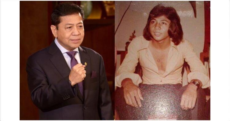 Beredar foto muda Setya Novanto, pernah jadi pria tertampan Surabaya