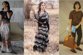 10 Gaya Dian sastro dalam balutan kain etnik, cantik khas Indonesia