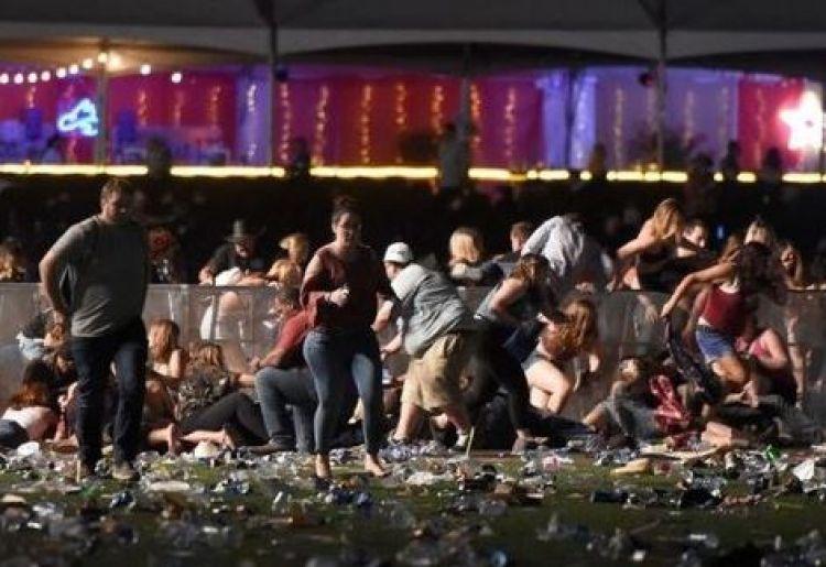 Penembakan di konser Las Vegas bikin dunia berduka, 50 korban tewas