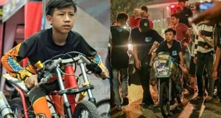 Denis Kancil, pembalap cilik meninggal saat coba motor di jalanan
