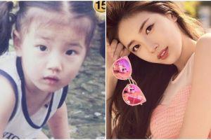 Dikenal kecantikannya natural, ini transformasi Suzy Miss A dari kecil