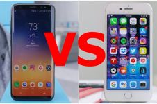 Uji ketahanan Galazy S8 vs iPhone 8, mana yang paling tangguh?
