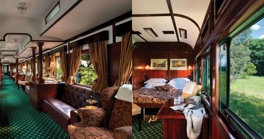 9 Desain interior kereta ini mewah banget, laiknya hotel bintang lima