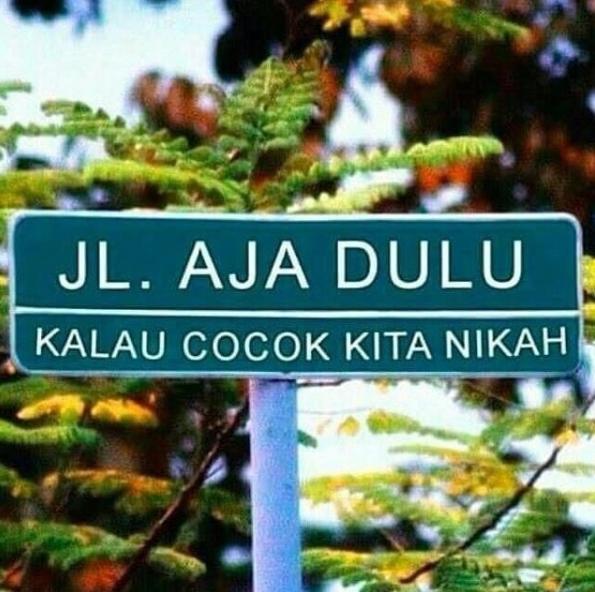 Nama Jalan Galau  © 2017 instagram