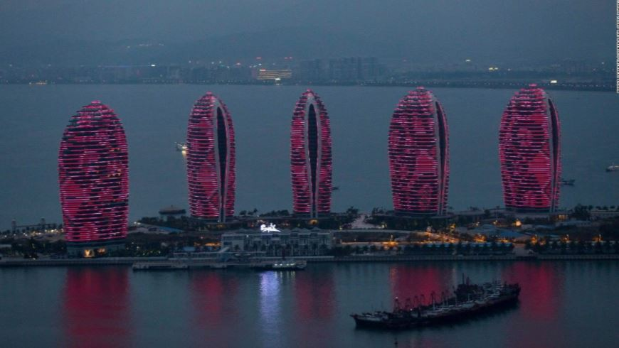 10 Potret kota di China yang disebut-sebut kembarannya Dubai & Hawaii