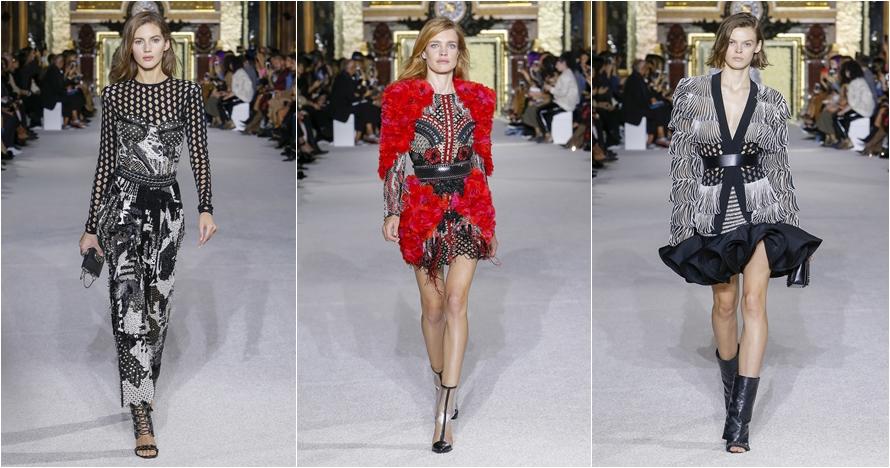Intip koleksi Balmain Ready-To-Wear di Paris Fashion Week 2017