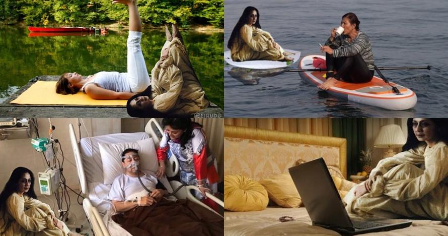15 Foto editan 'ibu sudah bisa' di film Pengabdi Setan ini lucu abis