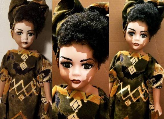 10 Boneka imut ini dibikin agar pengidap vitiligo cintai kulitnya
