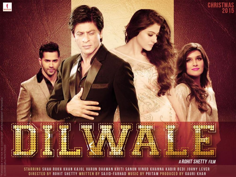 Dilwale Full Movie Download - Free downloads and