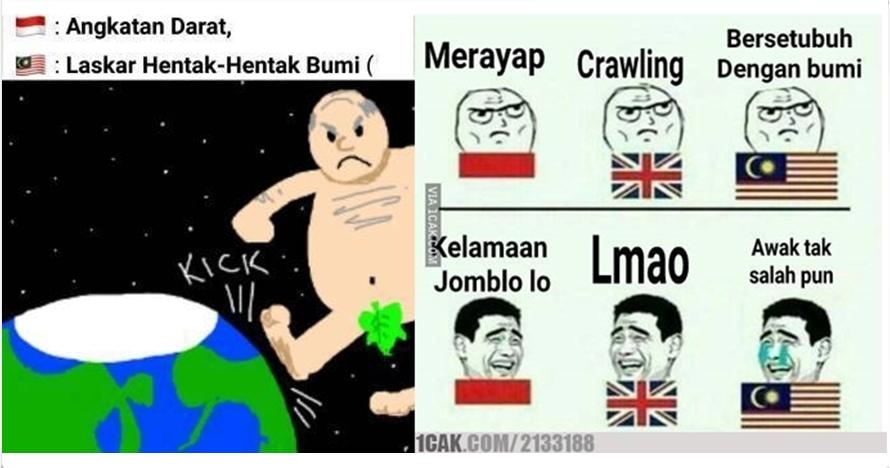 10 Meme terjemahan Indonesia - Malaysia ini bikin ketawa riang gembira