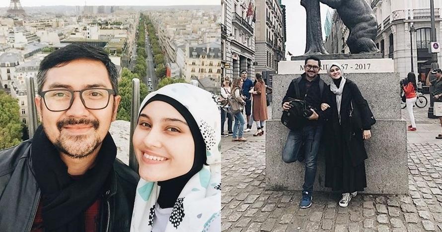 Jarang unggah foto berdua, ini 13 momen mesra Zee Zee Shahab dan suami