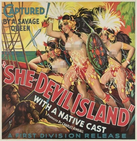35 Poster film dewasa langka dan jadul banget, era 1930 sampai 19