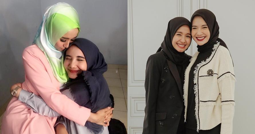 10 Momen persahabatan Laudya Bella-Zaskia Sungkar, bak saudara kandung