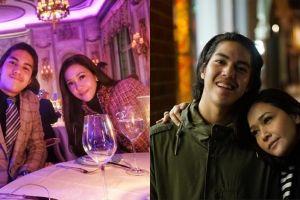 7 Foto Maia & El Rumi saat di London ini mirip orang pacaran, setuju?