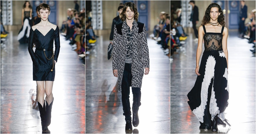 Intip koleksi Givenchy Ready-To-Wear di Paris Fashion Week 2017
