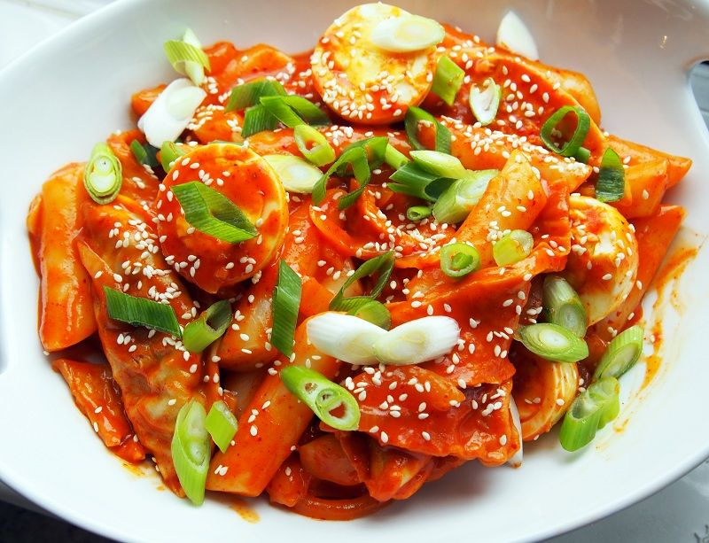 makanan khas korea ini cocok buat yang doyan pedas © 2017 berbagai sumber