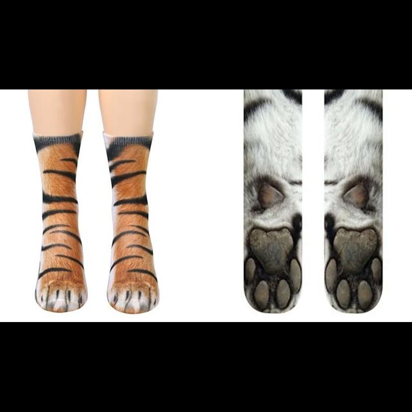 10 Kaus kaki ini bikin kakimu mirip binatang, ada-ada aja nih